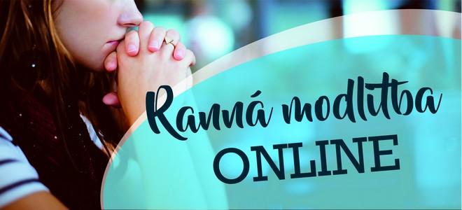 Ranná modlitba online