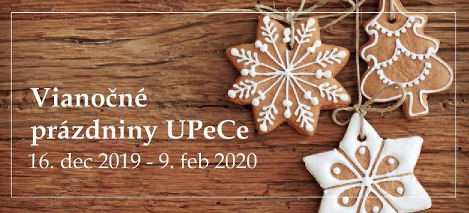 Vianočné prázdniny 2019