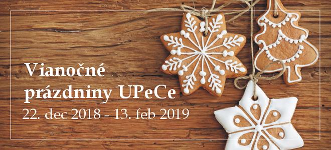 Vianočné prázdniny UPeCe